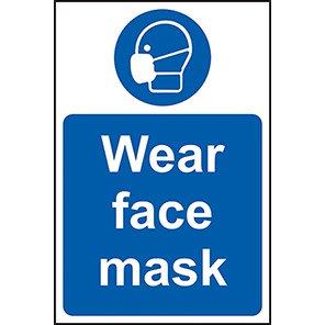 Mandatory Wear Face Mask Signs