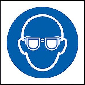 Mandatory Eye Protection Symbol Signs