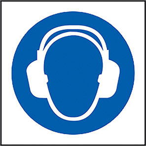 Ear Protection Symbol Sign
