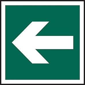 Fire Exit Arrow Signs