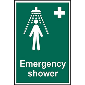 Safe Condition Sign Emergency Shower Signs