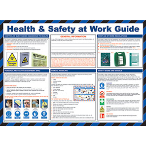 Spectrum Industrial Health and Safety At Work Guide Safety Poster