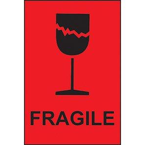 "Spectrum Industrial ""Fragile"" Labels (Roll of 1000)"