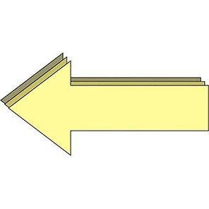 Spectrum Industrial Photoluminescent Arrow Floor Graphic (Pack of 8)