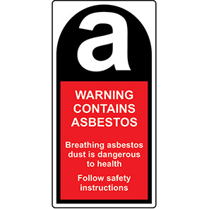 Roll Of 500 Asbestos Labels