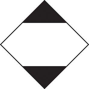 Spectrum Industrial Limited Quantity Road/Sea Hazard Diamond (Pack of 10)
