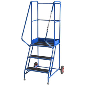 TB Davies Punched 3-Tread Safety Step Ladder (0.75m)