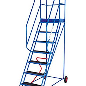 TB Davies Punched 8-Tread Safety Step Ladder (2m)