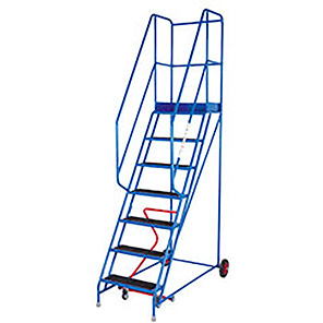 TB Davies Punched 15-Tread Safety Step Ladder (3.75m)