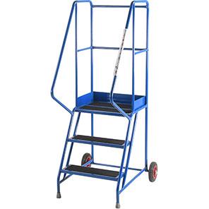 TB Davies 3-Tread Slip-Resistant Safety Step Ladder (0.75m)