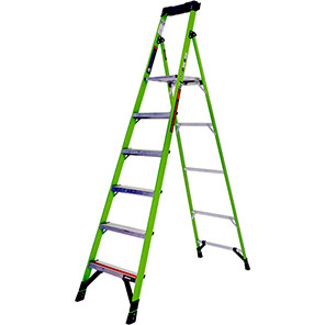 Little Giant MightyLite Fibreglass Step Ladders