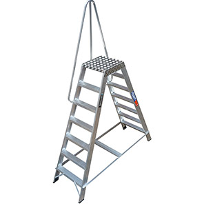TB Davies Double-Sided Industrial Step Ladders