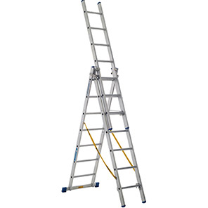 ZARGES Z 500 Skymaster 18-Tread Combination Ladder (4.1m)