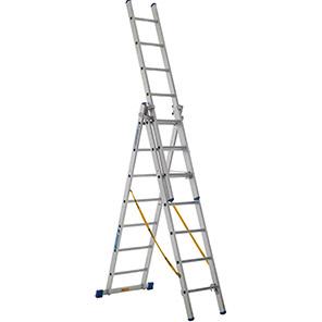ZARGES Z 500 Skymaster 27-Tread Combination Ladder (6.7m)