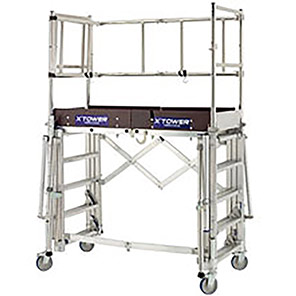 Tubesca-Comabi X-Tower Mobile Scaffold Tower