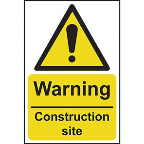 """Spectrum Industrial PVC """"Danger Site Entrance"""" Sign"""