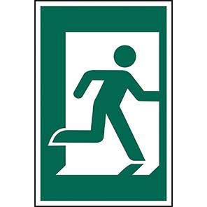 Spectrum Industrial Right Running Man Sign