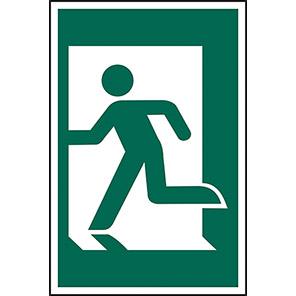 Spectrum Industrial PVC Left Running Man Sign