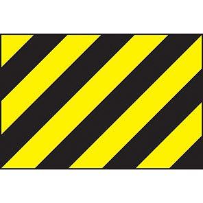 Spectrum Industrial Black/Yellow Warning Panel