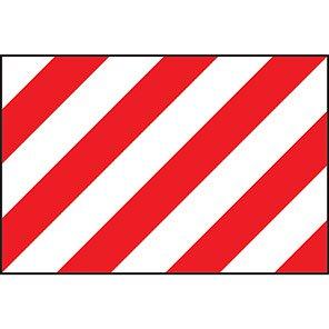 Spectrum Industrial Red/White Warning Panel