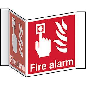 "Spectrum Industrial ""Fire Alarm"" Projection Sign"