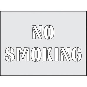 """Spectrum Industrial """"No Smoking"""" Stencil 190mm x 300mm"""