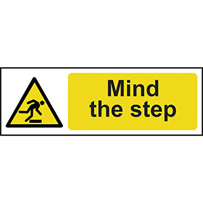 Mind The Step Signs