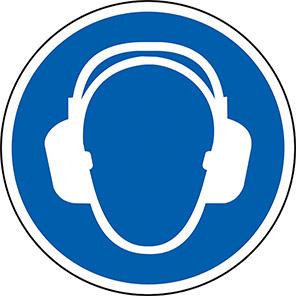 Spectrum Industrial Ear Protection Symbol Floor Graphic