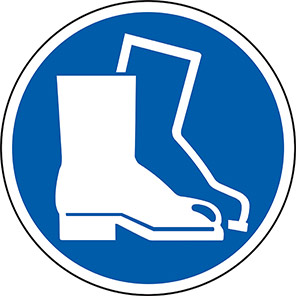 Spectrum Industrial Protective Footwear Floor Graphic