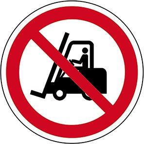 Spectrum Industrial No Forklift Trucks Symbol Floor Graphic