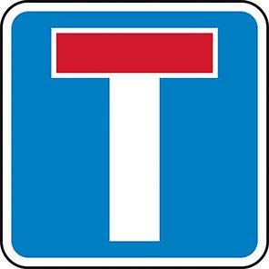 Permanent No Through Road Signs