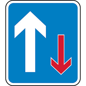 Permanent Right Of Way Road Signs