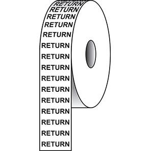 "Spectrum Industrial ""Return"" Pipeline Tape"