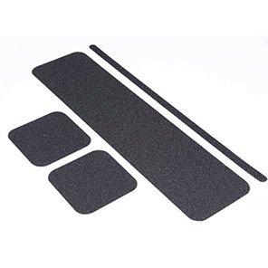Black Rectangular Slip-Resistant Floor Cleat (Pack of 10)