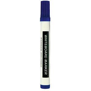 Centurion Blue Dry Wipe Markers (Pack of 10)