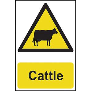 "Spectrum Industrial ""Cattle"" Sign"