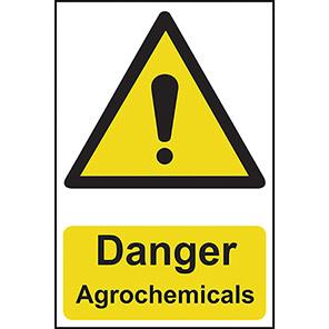 "Spectrum Industrial ""Danger Agrochemicals"" Sign"
