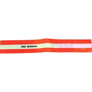 Centurion Hi-Vis Red Fire Marshal Armband