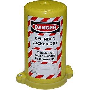 Gas Cylinder Valve Lockout Cover