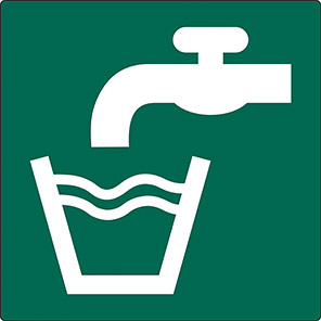 Safe Condition Drinking Water Signs
