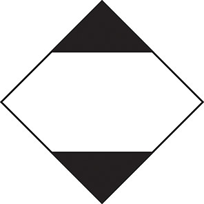 Spectrum Industrial Limited Quantity Road/Sea Hazard Diamond (Roll of 500)