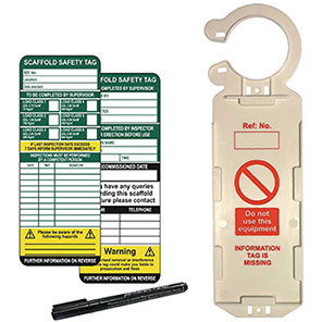 ClawTag Scaffolding Safety Management Single Tag Kit