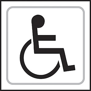 Taktyle Braille Disabled Signs