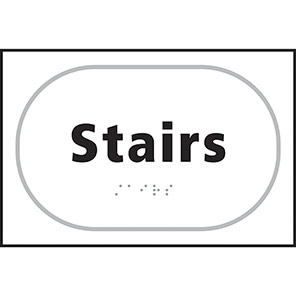 Taktyle Braille Stairs Signs