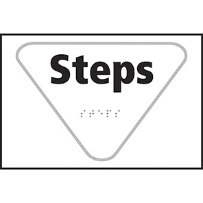 Taktyle Braille Steps Signs