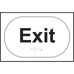 Taktyle Braille Exit Signs