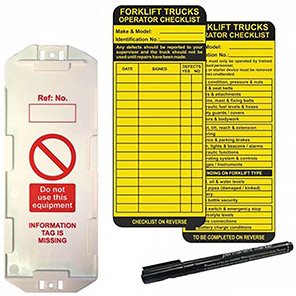 AssetTag MAX Forklift Safety Management Tag Kit in Box