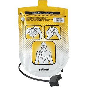 Defibtech Lifeline Adult Replacement Defibrillator Pads