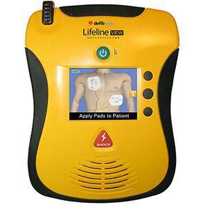 Defibtech Lifeline VIEW Semi-Automatic Defibrillator