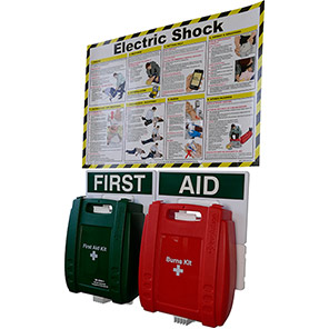 Electric Shock First Aid Point